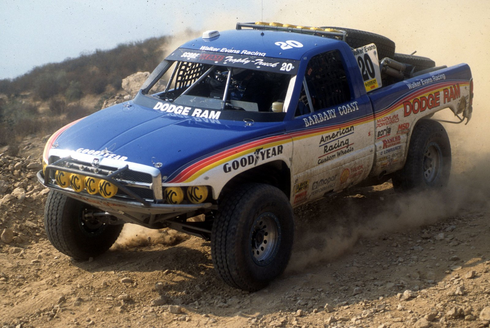 Walker Evans, 1995 Baja 1000 PHOTO: Race-Dezert