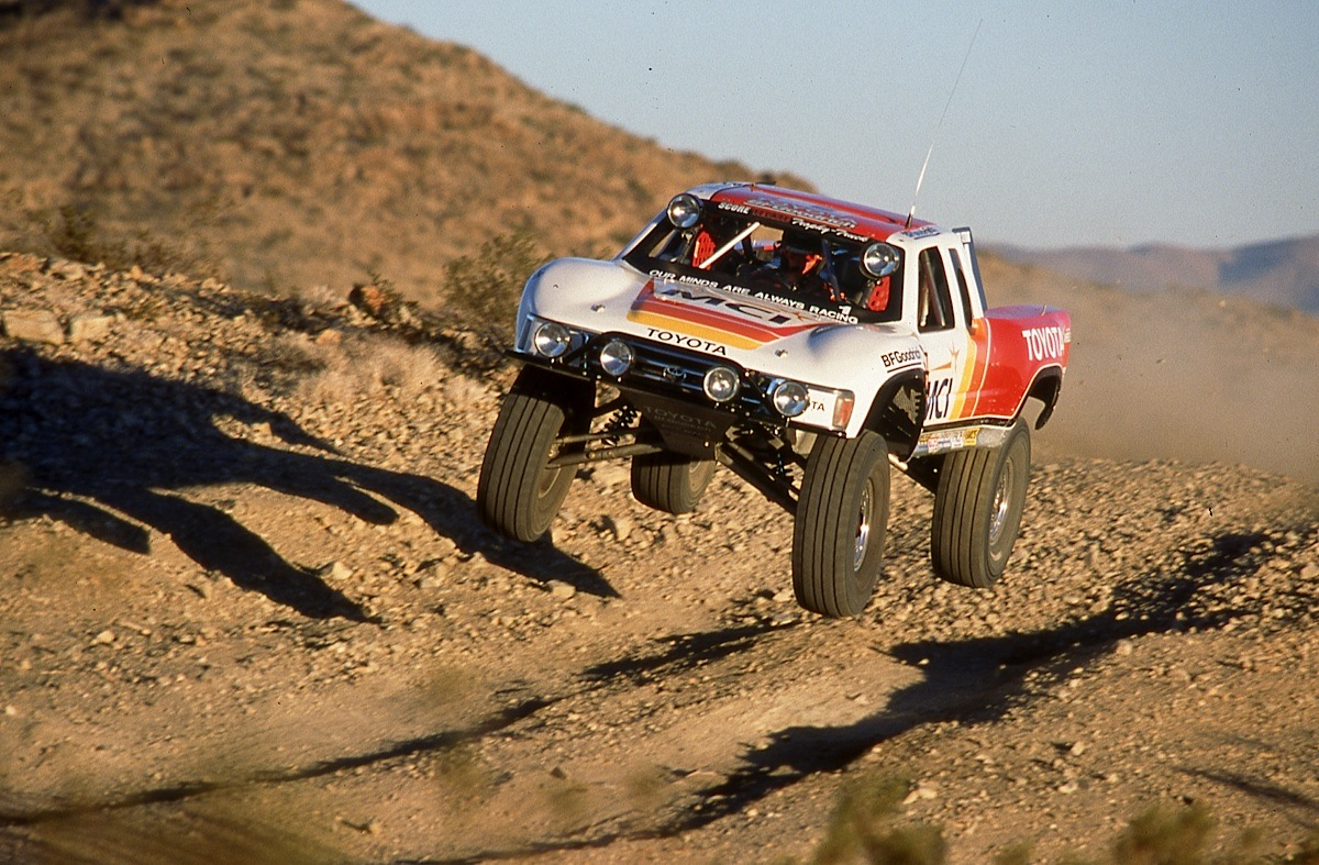 trophy trucks fastest class of off road