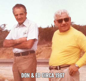 Ed Pearlman and Don Francisco PHOTO: Norra