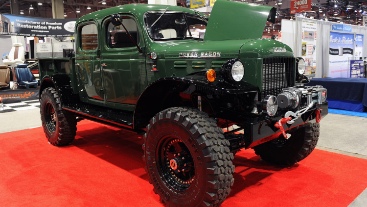 A Jackson Wyoming based company called Legacy Classic Trucks is rebuilding these old classics with modern running gear. Photo: Autoblog