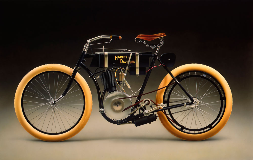 Who Invented The First Harley Davidson Motorcycle