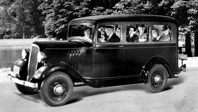 Chevy Suburban Seating >> The 1935 Chevrolet Carryall Suburban, Americas First SUV