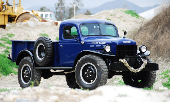 Dodge Power Wagon on 1956 dodge d200