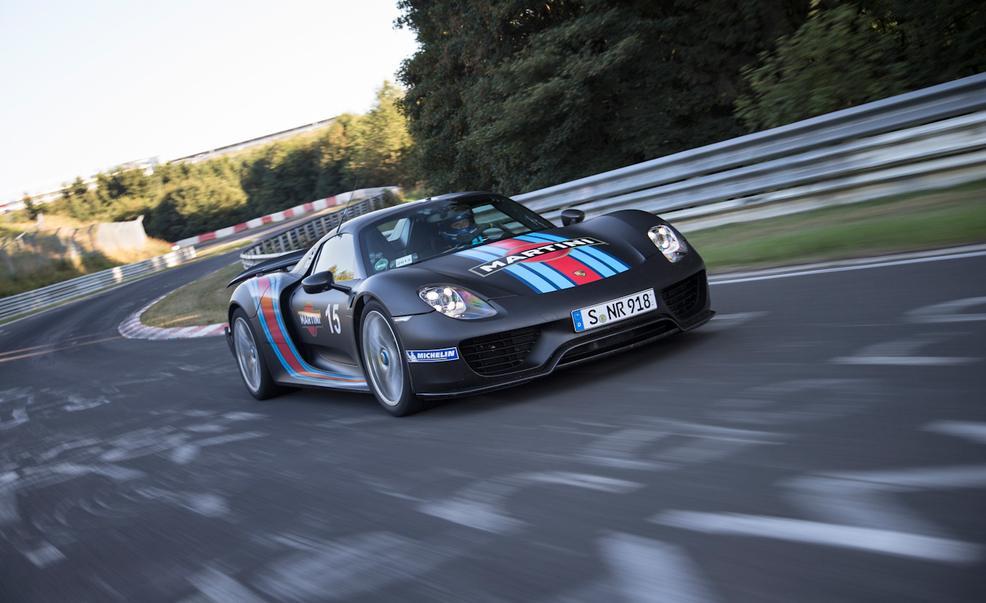 Porsche 918 Record Car Photo: caranddriver