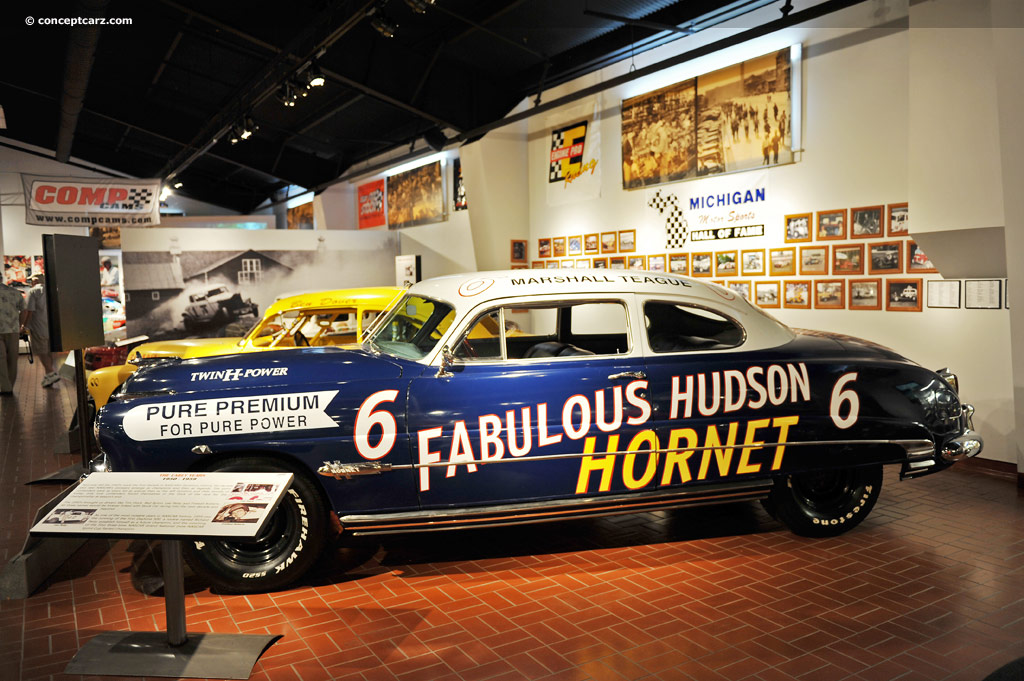 Marshall Teague's Fabulous Hudson Hornet PHOTO: Concept Carz