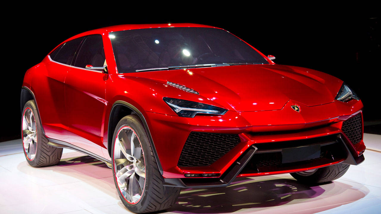 Lamborghini Urus Concept Photo: Roadandtrack
