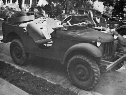 The First Prototype Blitz Buggy PHOTO: Wiki