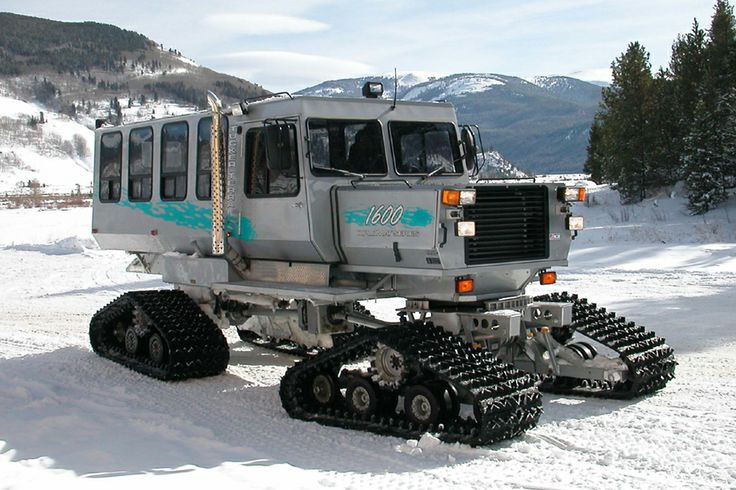 The History Of The Tucker Sno Cat