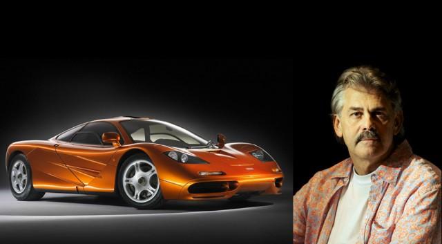 Gordon Murray Alongside his masterpiece, the F1 Photo: MotorAuthority