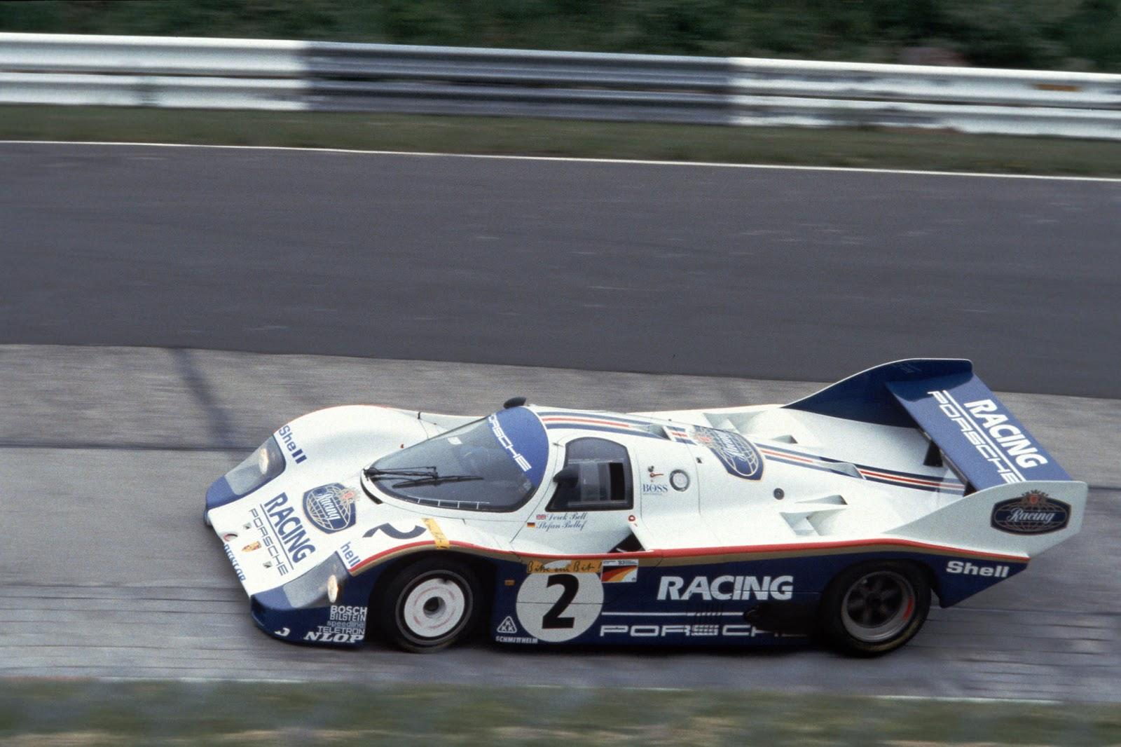 Porsche 956 that holds official lap record Photo: gtspirit