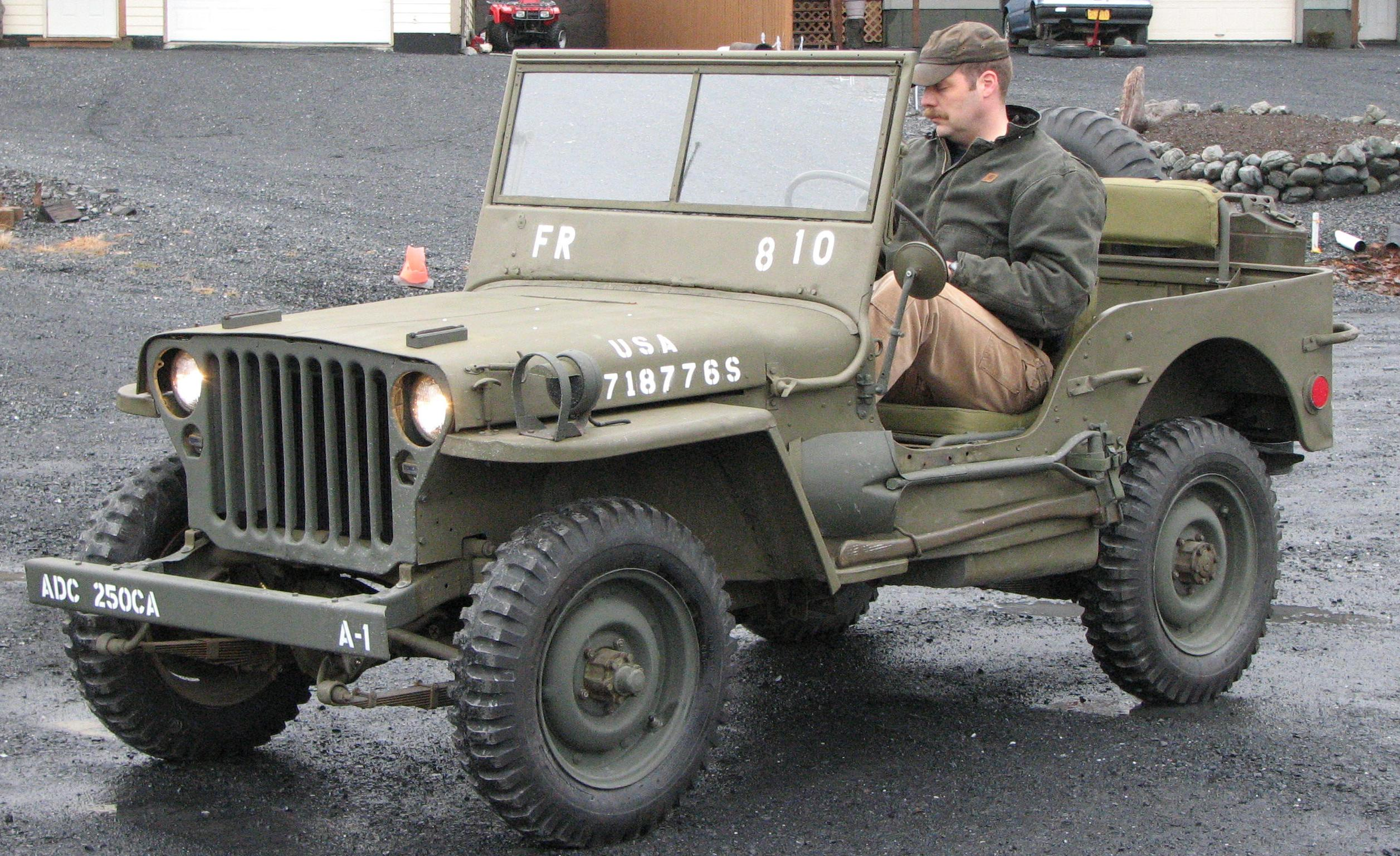The Willys MB, the most famous of them all. PHOTO: Kadiak