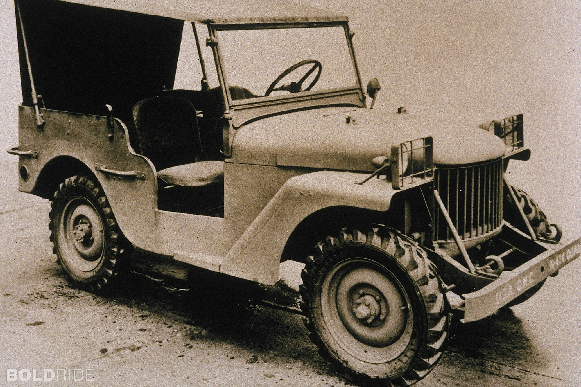 The first willys prototype the quad photo bold ride