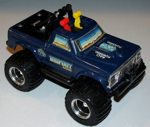 Who Remembers this Bigfoot Toy? Photo: Pinterest