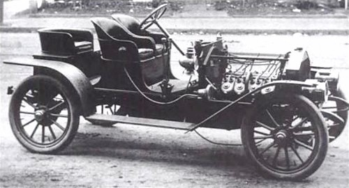 approx 1905 Buffam Runabout Photo: Bangshift