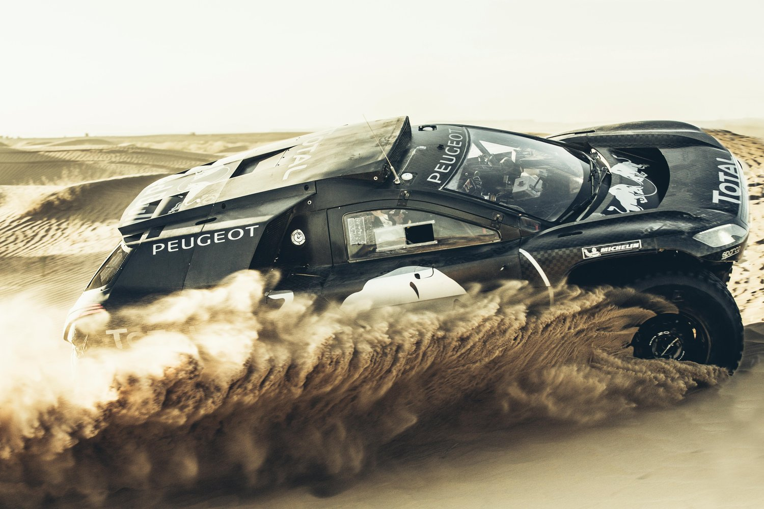 Peugeot 2008 DKR16 version using in 2016 Dakar Photo: RedBull