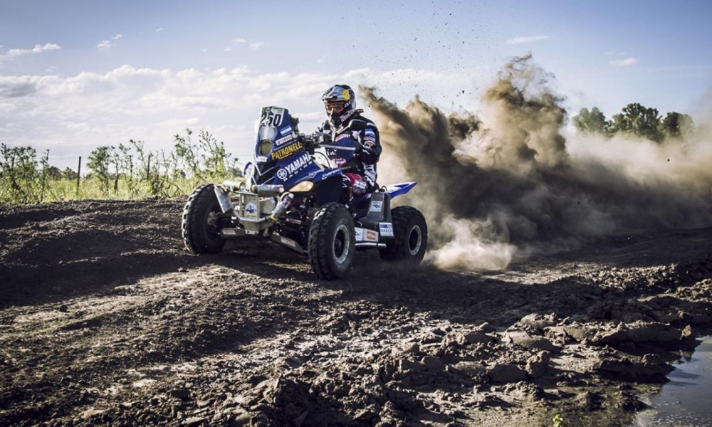 Dakar 2016 winning quad piloted by Marcos Patronelli Photo: gallito.com