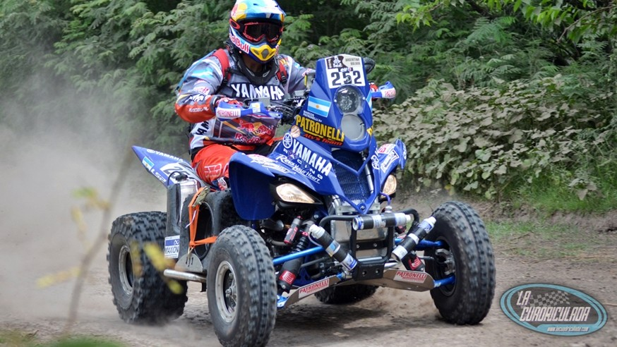 Dakar 2016 winning quad piloted by Marcos Patronelli Photo: lacuadriculada.com