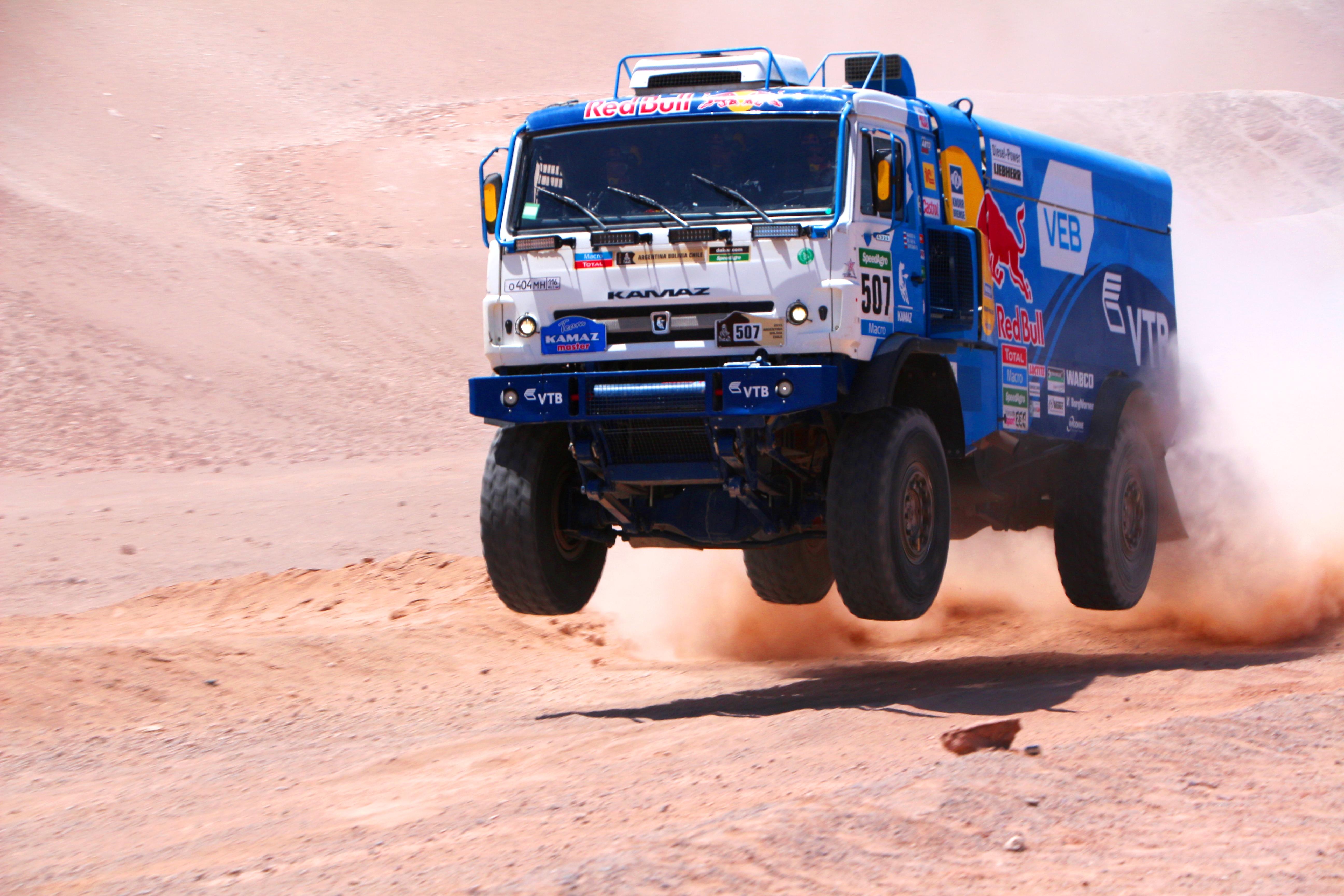 Dakar Truck Class Photo: euracti.com