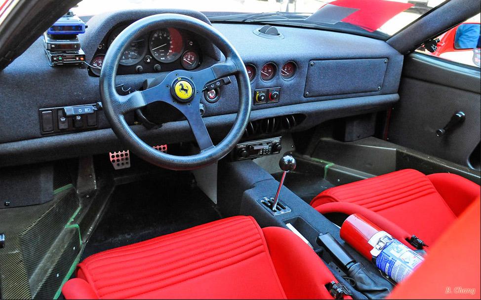 F40 interior  Photo: pinthiscars