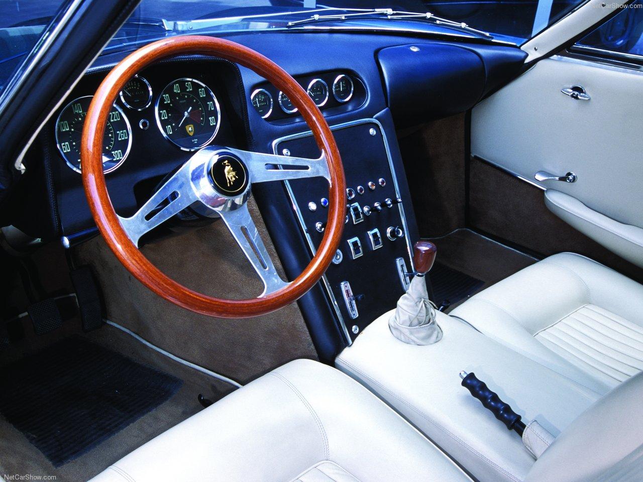 1963 Lamborghini 350GTV Interior PHOTO: netcarshow