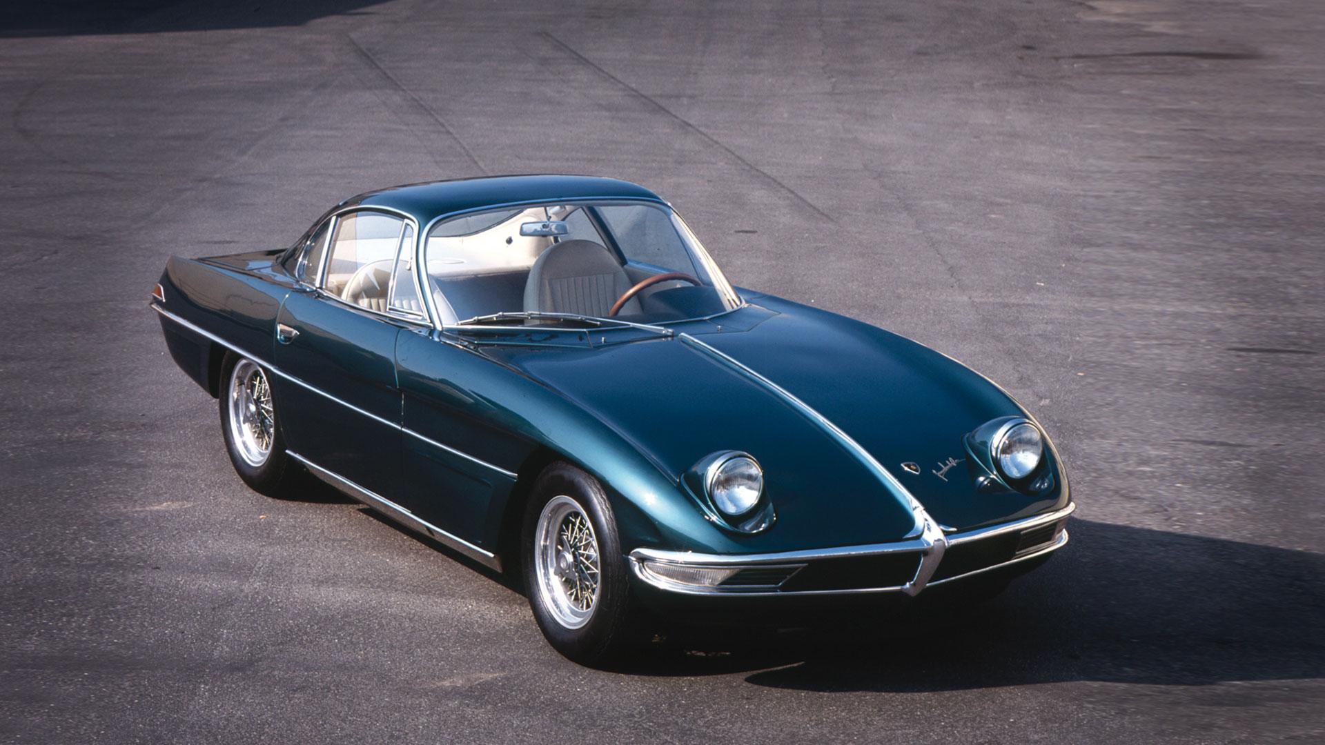 1963 Lamborghini 350GTV PHOTO: Lamborghini