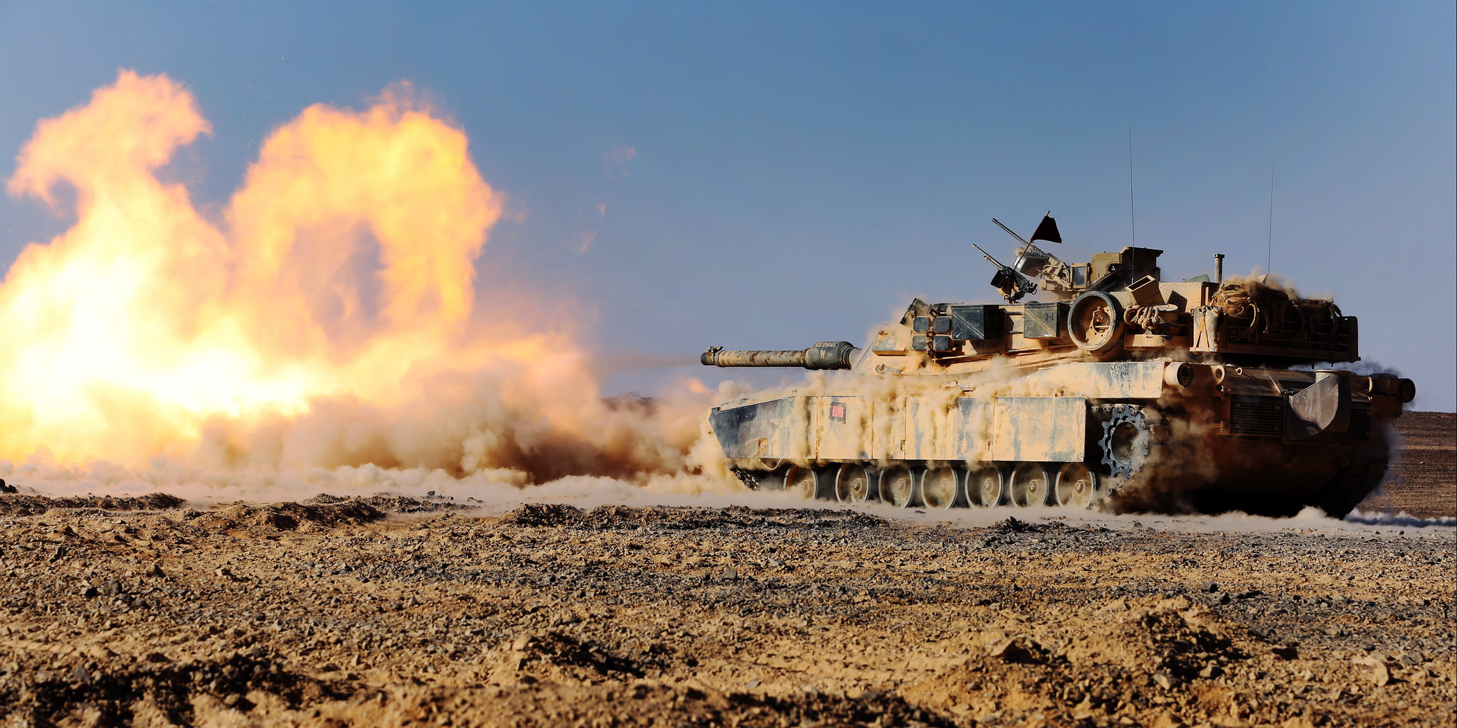 The One And Only M1 Abrams Tank