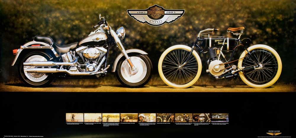 The 100th Anniversary bike of 2003 Photo: DeansGarage