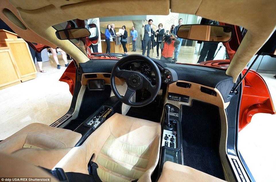 Three seat interior in the F1 Photo: Dailymail