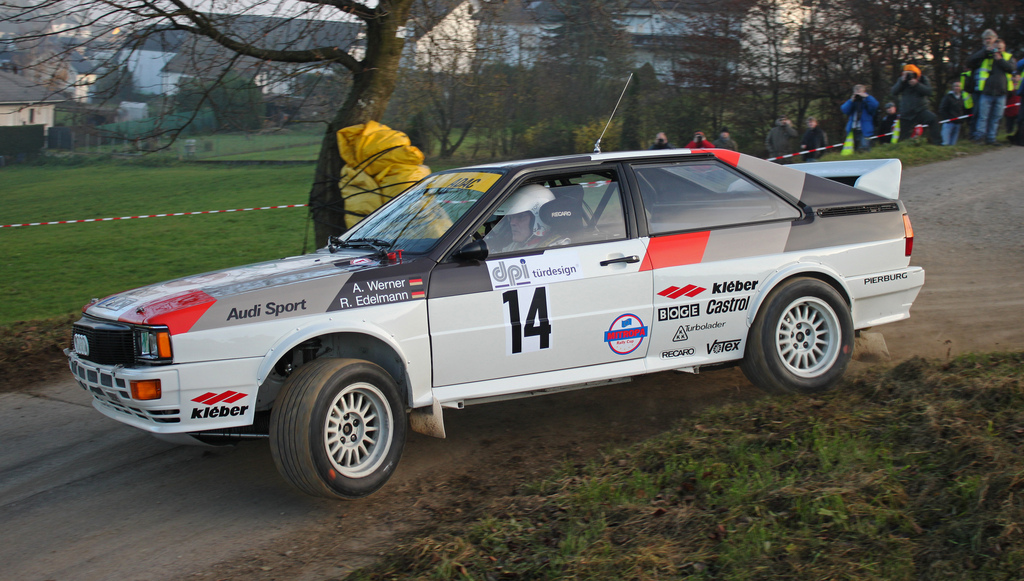 Very similar to the car used by Michele Mouton in her 1981 Rally win Photo: FLickr