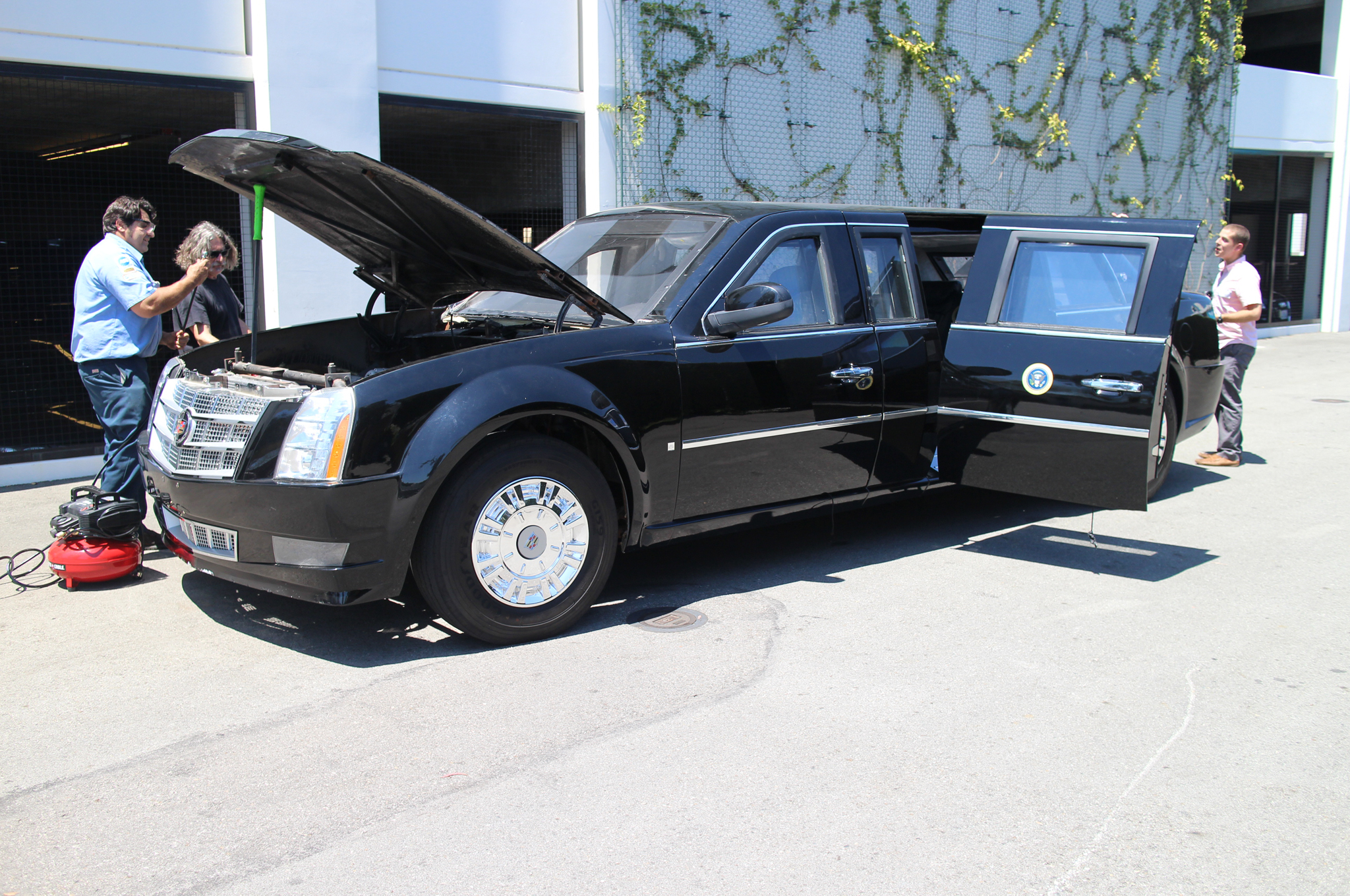 The Presidential Limo , Otherwise Known as The Beast