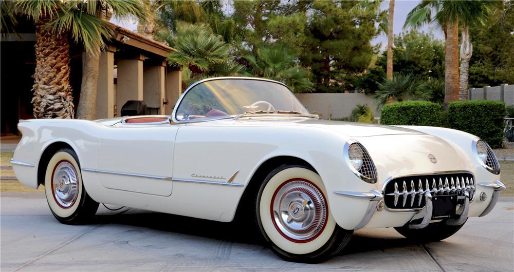 chevrolet corvette 1953 года