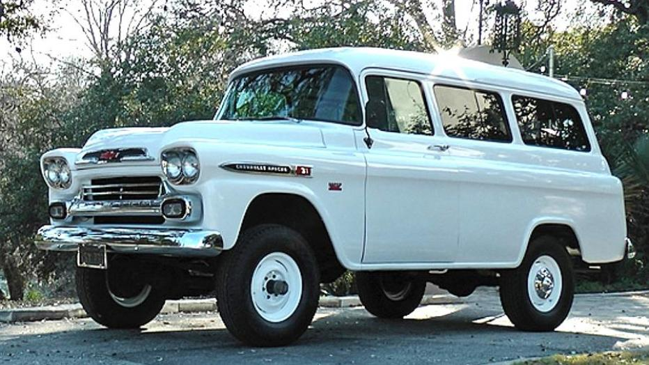 1958 NAPCO GMC Suburban Photo: Autoweek
