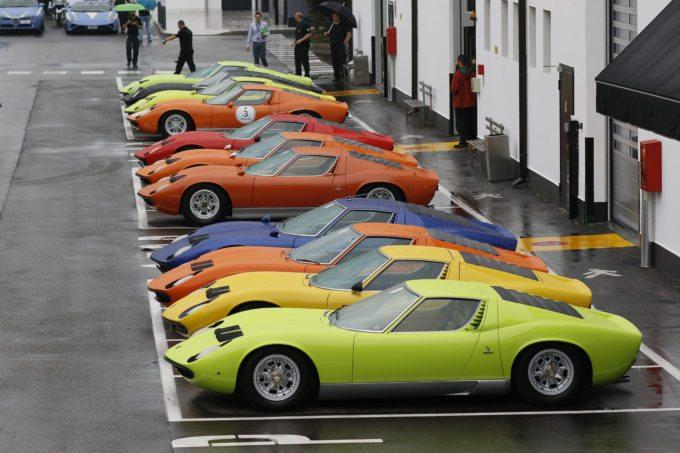 50th Anniversary Of The Lamborghini Miura