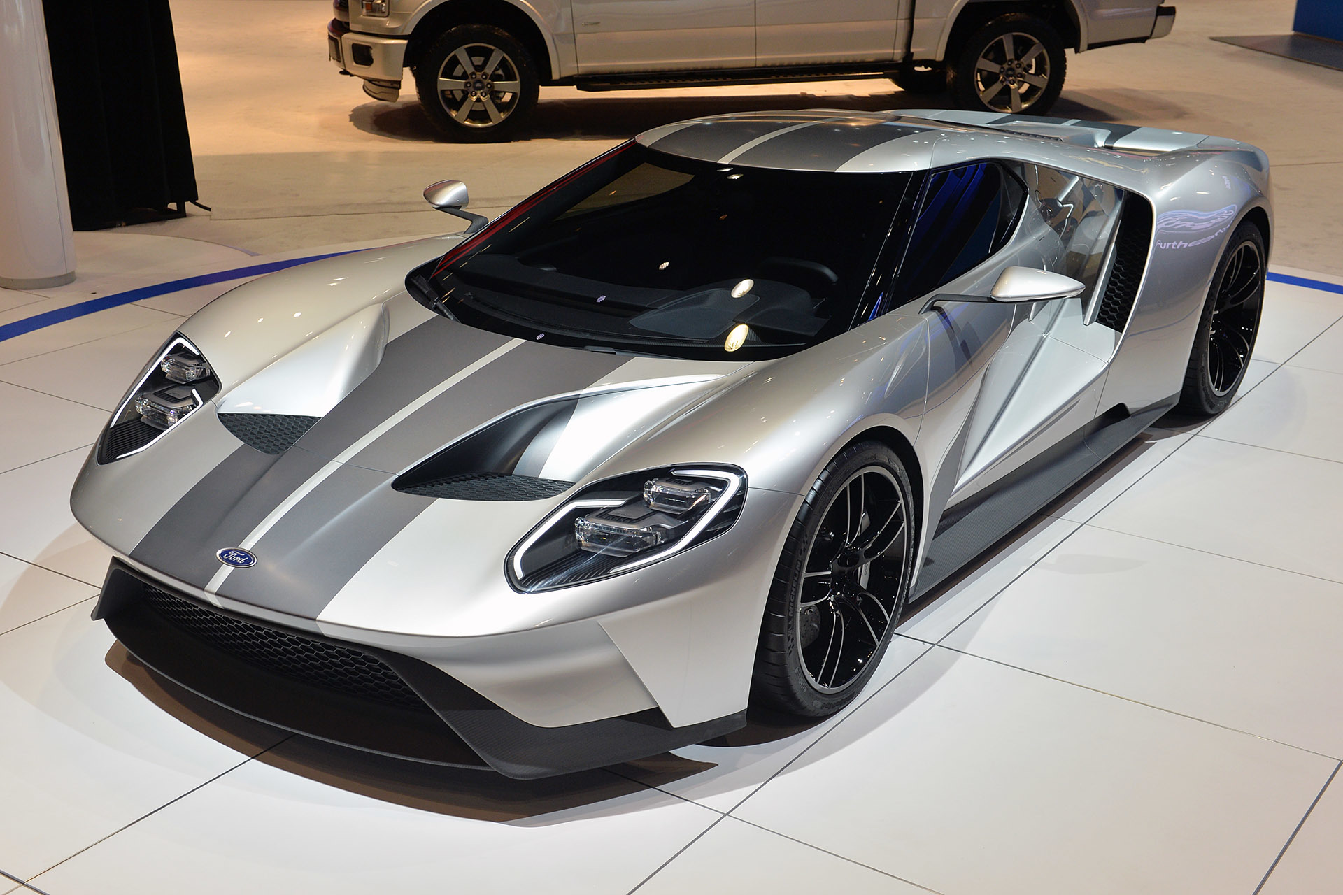 2017 Ford GT Photo: wallpapersdsc