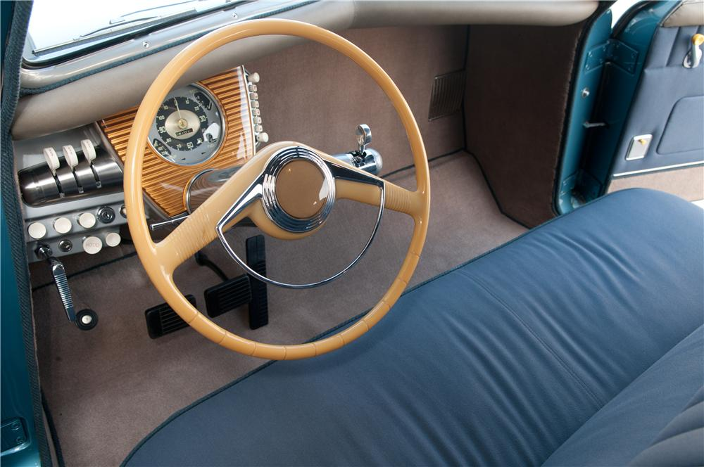 Interior of the Tucker 48 Photo: hemmings