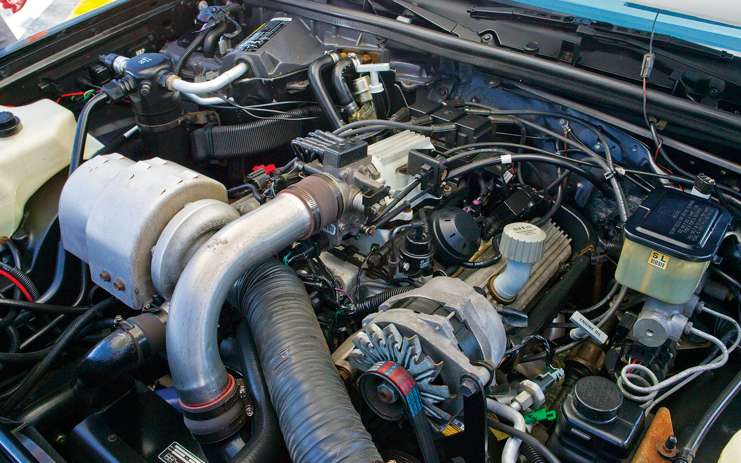 3.8L Turbo V6 producing an estimated 235hp Photo: motortrend