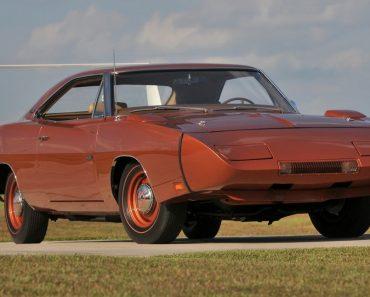 Spade's $900,000 Dodge Daytona Photo: hemmings