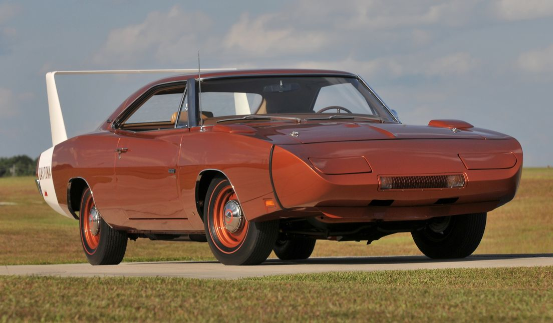 Spade's $900,000 Dodge Daytona Photo: hemmings
