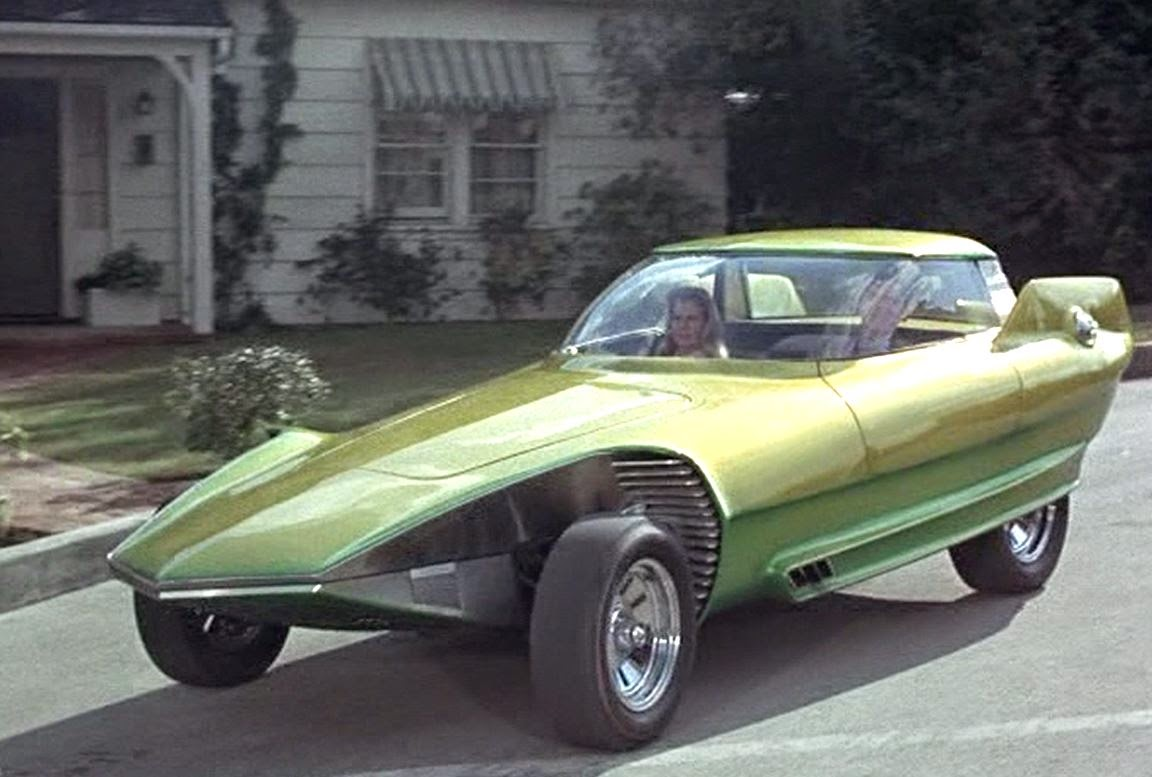 The Reactor on Bewitched as Darrin's Dream Car Photo: beforeitsnews