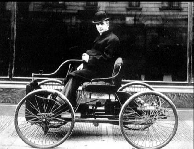 Off Road Design >> Video: Henry Fords First Vehicle, The Quadricycle