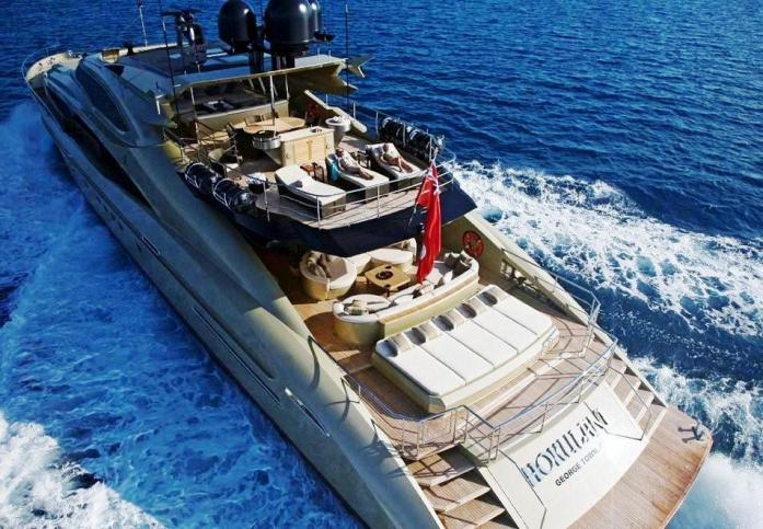 Luxury Yachts Owned By...