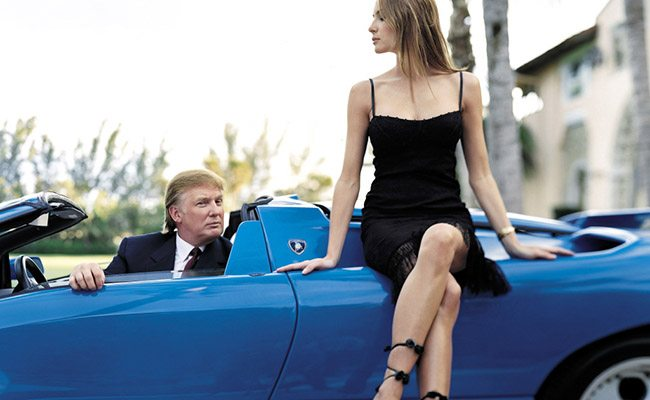 the prestige cars once owned by donald trump. Black Bedroom Furniture Sets. Home Design Ideas