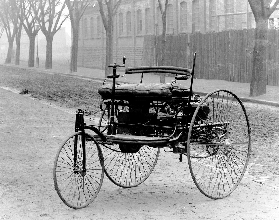 1886; The First Feasible Patented Gas-powered Car