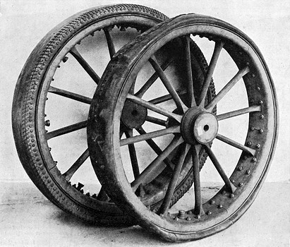 Without Charles Goodyear We D All Drive On Wooden Wheels